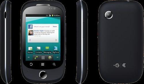 "Telstra Uno ZTE T12 Black 3G 2.8"" Screen 2.0MP Camera Android 2.3.5 Next G"