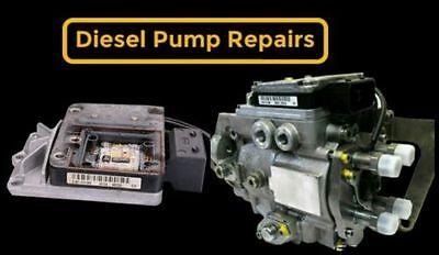 Audi A4  A6  A8 25 TDI V6 Bosch Fuel Pump EDC PSG5 Repair Service