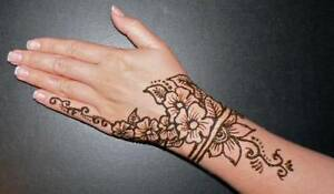 Black and brown henna