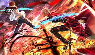 Official Fate//stay night Playmat Archer /& Saber Ultra PRO
