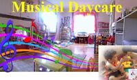 MUSICAL DAYCARE - Spot available