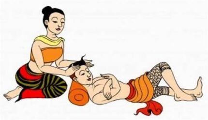Thai massage shop.