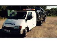 Transit recovery truck with mot. LEZ compliant