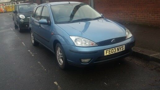 ford focus 1.6 2003 year mot pefect condition