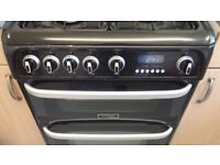 canon carrick ch60gcik gas cooker with double oven freestanding