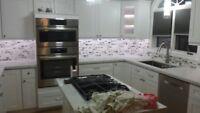 backsplash tile installation  (289) 339-7513