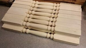 """15 new 2 1/2""""x36"""" primed wood railing spindle posts"""