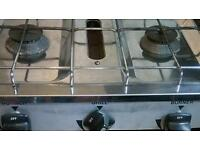 Caravan gas cooker