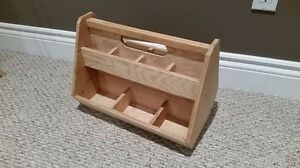 Hand Made Wooden Tool Parts Storage Box