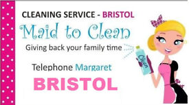 The Most Effective CLEANING SERVICE BRISTOL, full service, iring, washing, etc BEST PRICE