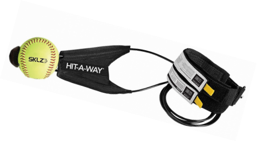 Improv.. Free Shipping SKLZ Hit-A-Way Swing Trainer for Baseball and Softball