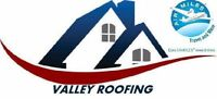 Valley Roofing - 10 Year Warranty - 15% discounts available