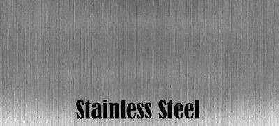 1 Pieces 9 X 12 Stainless Steel Sheet Metal .074 Thick 14 Gauge