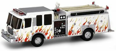 Code 3 Ferrara Pumper - Promotional Markings 12330 1/64 Scale Die Cast (Die Cast Promotions 1 64 Scale Trucks)