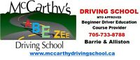 Alliston December 2015 - Beginner Driver Education Course