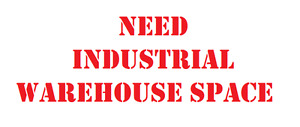Warehouse space needed for a clean, quiet operation