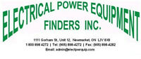 ELECTRICAL POWER EQUIPMENT FINDERS INC!