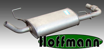 Exhaust Middle Box to fit NISSAN Pathfinder 2.5 Diesel  03//2005 to 12//2010