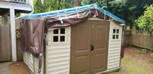 Like New Duramax Vinyl shed 8x10.5 - reduced! - $500 (Burnaby)