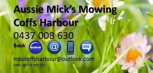 Aussie Mick's Mowing Coffs Harbour Coffs Harbour Coffs Harbour City Preview