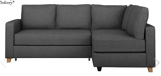 Almost New M S Loft Tromso Corner Sofa Bed Right Hand For