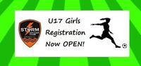 Storm Soccer Club Dartmouth Looking to Field a U17 Girls Team