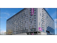 Premier Inn 1 night reservation - North terminal Gatwick 25/1/18
