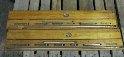 Tumico I-3565 Tubular Micrometer Set In Wooden Box