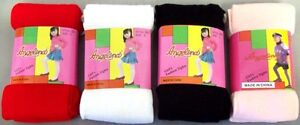 Socks-amp-Hosiery-Girls-Fashion-Winter-Tights-In-Solid-Colors-6-Pairs-Lot-E00045