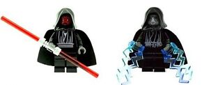 Star Wars  Darth Maul & Emperor Palpatine Custom Made Figures & 100% LEGO Parts