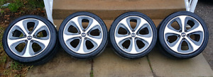 "4 Hankook Optimo H426 all season with OEM Kia 18"" rims"