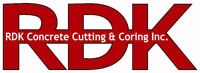 RDK Concrete Cutting & Coring Inc.