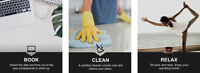 Affordable eco-friendly cleaning (flat rate pricing,move-in/out)
