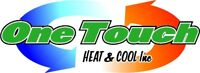 One Touch Heat & Cool Residential Mini Splits & Heat Pumps