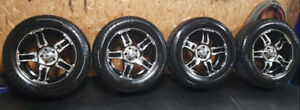 FAST / HD  20 INCH RIMS AND NEW TIRES  5x127 BOLT PATTERN