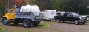 Pressure washing & water transport business (set or separate)