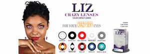 Brand New Liz Halloween / SFX Color Contact Lenses