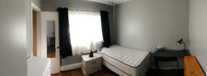Spacious furnished room for rent (NBCC student preferred)