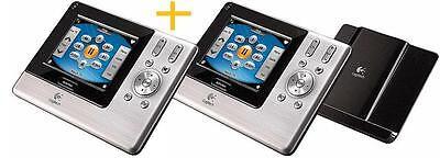 LOT 2__Logitech Harmony 1000 Advanced Touch Screen LCD Universal Remote
