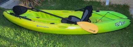 Used once Tribe Kayak for Easter. Grandsons prefer soccer !