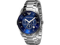 New Armani AR5860 Blue Dial Mens Watch RRP £299 Now Only £99