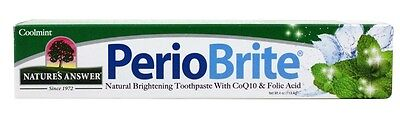 Nature's Answer - PerioBrite Toothpaste Coolmint - 4 oz.