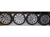 BMW 1 3 Series Z3 Z4 17'' Style 285 GENUINE ALLOY WHEELS E36 E46 E90