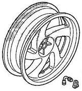 Goldwing Rear Wheel