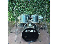 Tama Swingstar acoustic drum-kit complete and ready to play