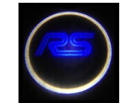 2 x FORD RS 3D COB LED DOOR LOGO COURTESY LIGHT LASER GHOST PROJECTOR SHADOW PUDDLE LAMPS