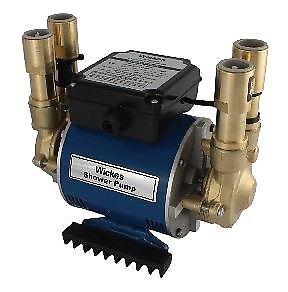 Twin Impeller 2 Bar Brass Pump