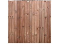 Premium Feather Edge (Closeboard) Panels HEAVY DUTY - Delivey throughout Norfolk