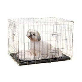 Small Double Door Dog Training Crate