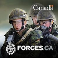 Canadian Army Reserve Hiring Now